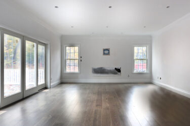 Photograph of Family Room at 22 Hedgerow Lane, Westwood MA