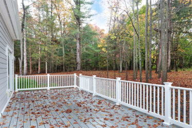 Photograph of Deck at 25 Hedgerow Lane, Westwood MA