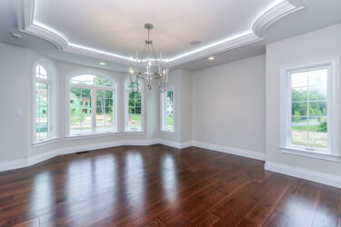 Photograph of Dining Room at 30 Hedgerow Lane, Westwood MA