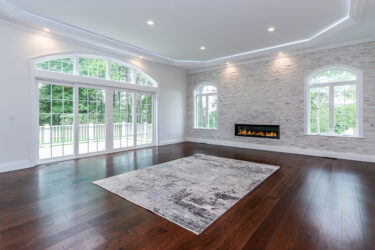 Photograph of Family Room at 30 Hedgerow Lane, Westwood MA