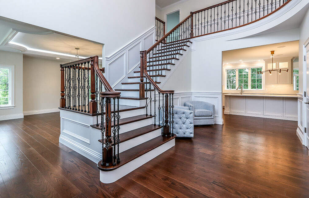 Photograph of Foyer at 30 Hedgerow Lane, Westwood MA