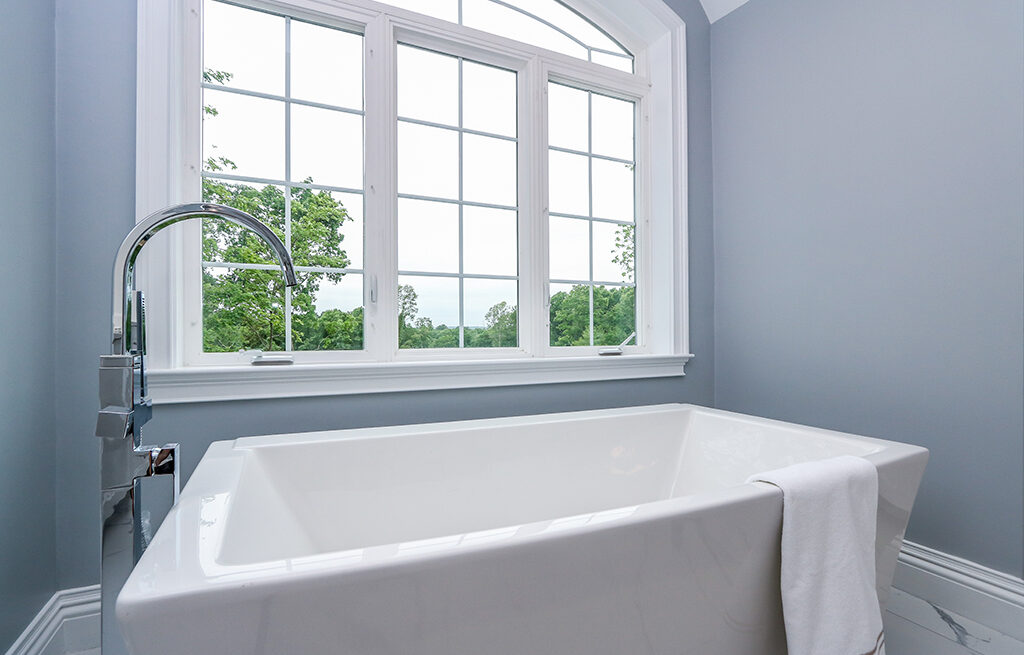 Photograph of Master Bathroom at 30 Hedgerow Lane, Westwood MA