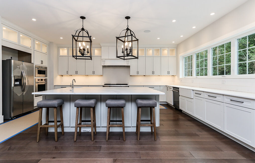 Photograph of Kitchen at 29 Hedgerow Lane, Westwood MA