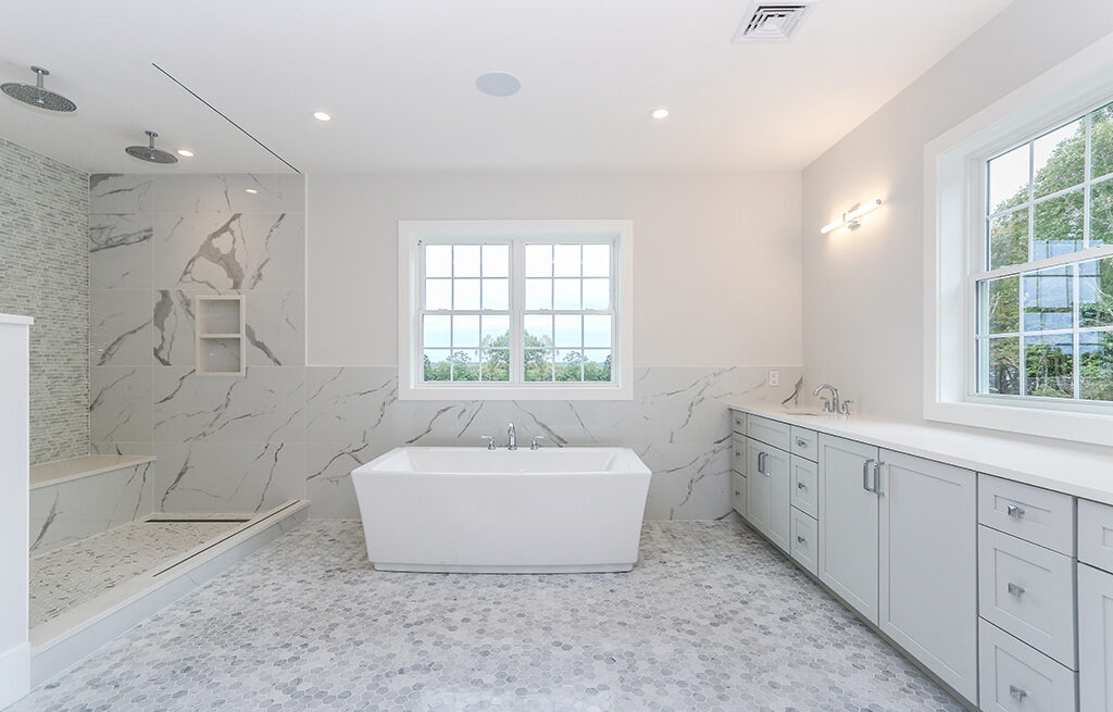 Photograph of Master Bathroom at 29 Hedgerow Lane, Westwood MA